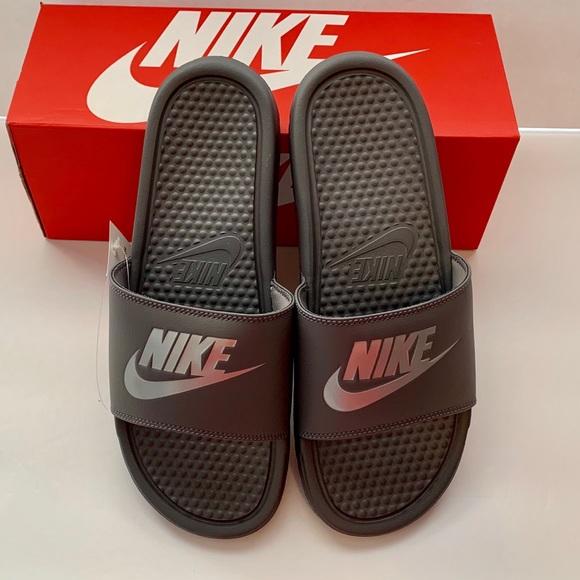 224f1268e6c0 🔥Sandal SALE🔥 NEW Men s Benassi JDI Sandals. NWT. Nike.  37  59. Size. 7.  8. 10. 11